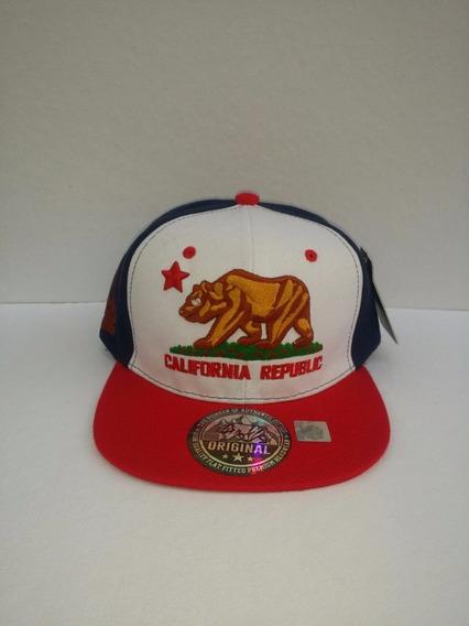 Gorra California Republic Snapback Alta Calidad, No New Era