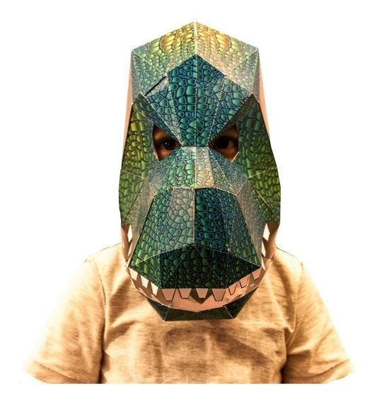 Juguetes Didacticos Art Kiddy Mascaras 3 D Para Armar
