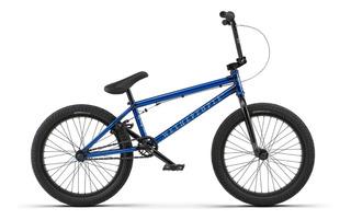 Bicicleta Bmx Wtp Arcade Azul Metalizado Rulemanes 2018 Ofe