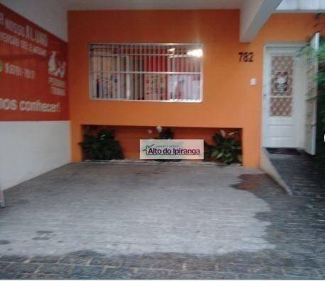 Imagem 1 de 10 de Sobrado Com 3 Dormitórios À Venda, 130 M² - Brooklin - São Paulo/sp - So1233