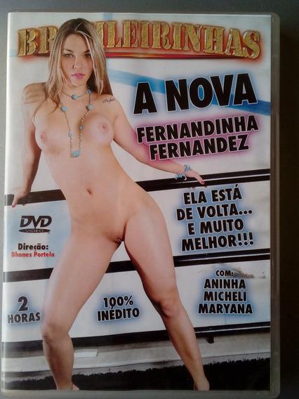 Dvd Pornô Original ` A Nova Fernandinha Fernandes ´