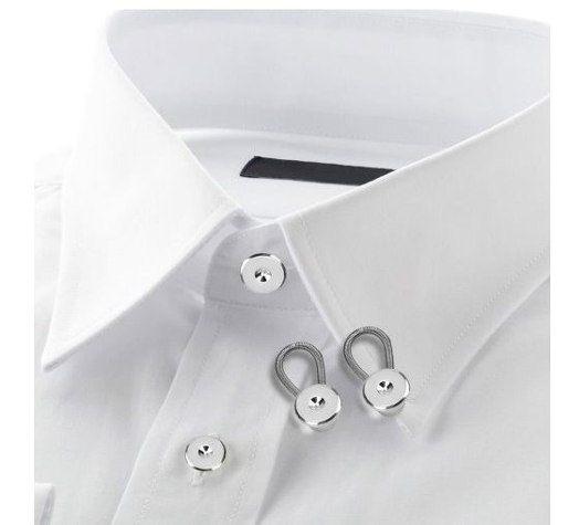 Extensores Alargador Colarinho De Camisa Aço Inoxidável