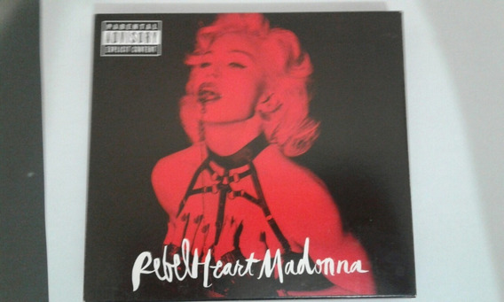 Madonna Rebel Heart Cd Duplo