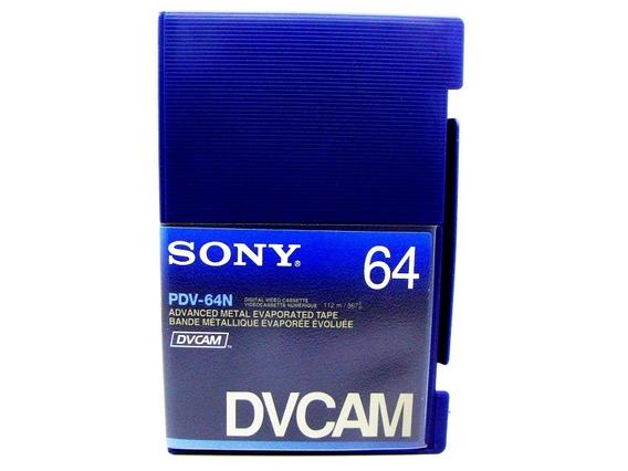 Fita De Video Dvcam Sony Pdv-64n - 64 Minutos Para Tape Hdv