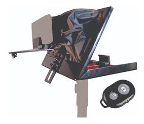Teleprompter C/ Controle Remoto Simples + Adaptador De Celul