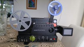 Projetor Super 8 Minolta - Modelo Sound 6000