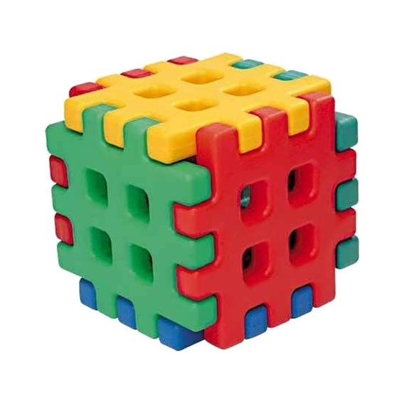 Monte Play Cubo Playground Polietileno Alpha Brinquedos