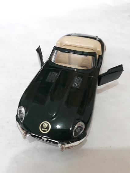 Miniatura Metal Jaguar E Cavriolet