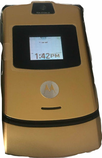 Motorola V3 Gold En Buen Estado Envio Gratis
