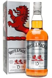 Whisky Whyte & Mackay 13 Años Doble Leon Escoces Con Estuche