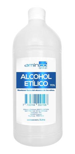 Alcohol Líquido Rectificado 1 Lt Al 70%