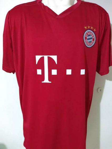 Camiseta De Fútbol Talles Especiales Bayer Munich T7 Y T9