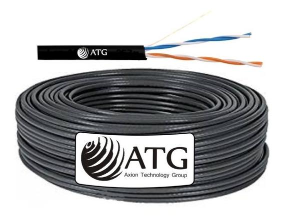 Cable Cámaras De Seguridad Utp 2 Pares 100% Cobre 100mts