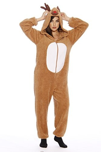6411-new-s Followme Adult Onesie Pyjamas, Pequeno, Sherpa