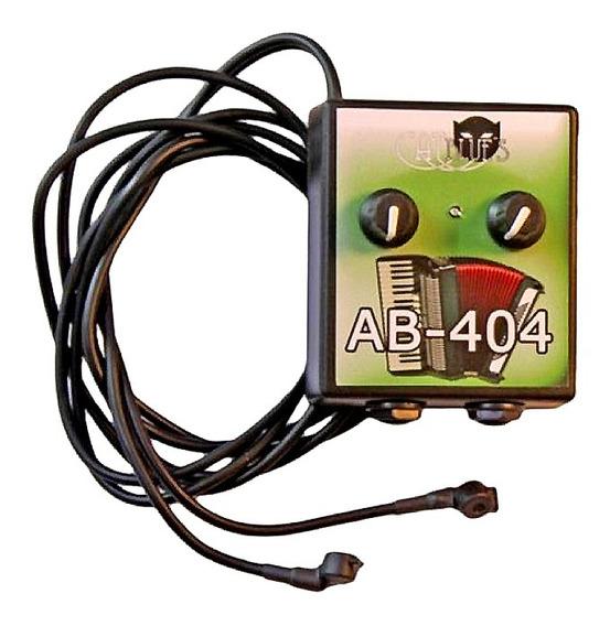Microfono Para Acordeon Cat Blues Ab404 2 Salidas - Activo