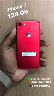 Apple iPhone 7 128gb Vermelho Vitrine