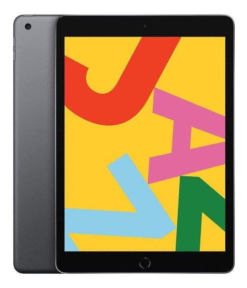 "iPad Apple 7ª Generación 2019 A2197 10.2"" 128GB space grey com memória RAM 3GB"