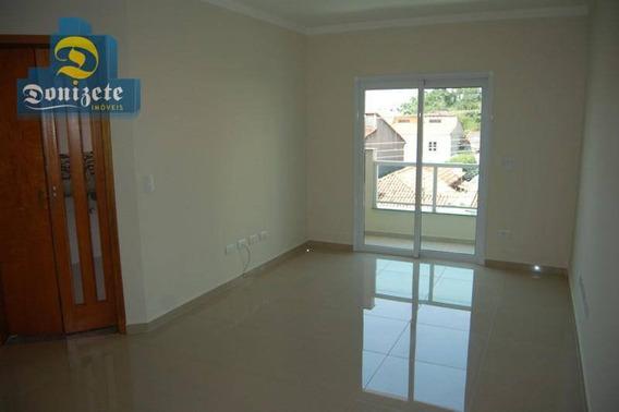 Apartamento Com 2 Dormitórios À Venda, 72 M² Por R$ 350.000,01 - Campestre - Santo André/sp - Ap7782