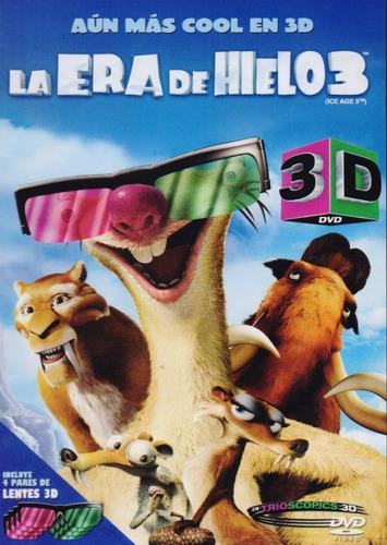La Era Del Hielo 3 Tres Pelicula Dvd 3d