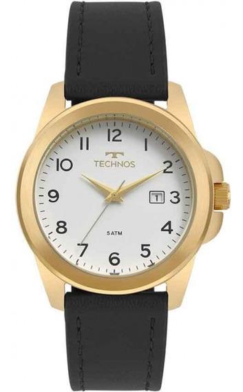 Relógio Technos Masculino Classic Steel 2115mqj/2b