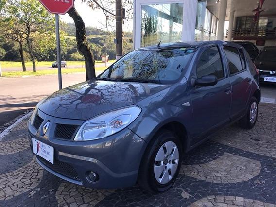 Renault Sandero 1.0 Expression Flex Cinza 2009