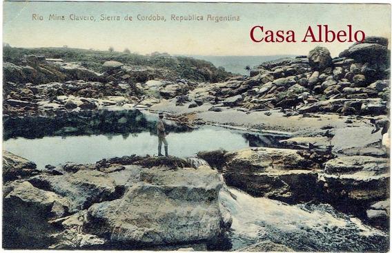 Rio Mina Clavero, Sierras De Cordoba, Republica Argentina