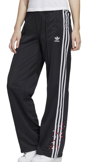 Pantalon adidas Originals Moda Track Pants Mujer Ng/bl