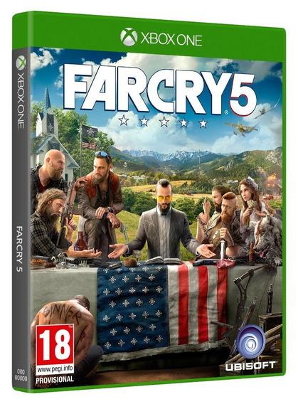 Jogo Far Cry 5 Xbox One Disco Fisico Original Novo Dublado