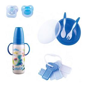 Kit Bebê Menino 3 / Kit Chupeta,mamadeira,acessórios