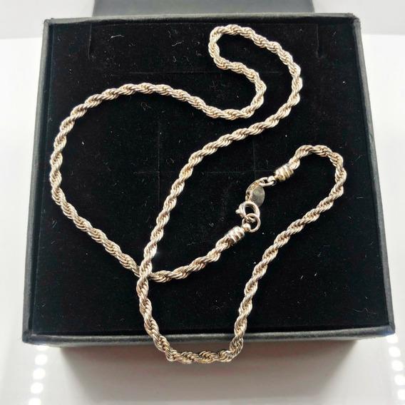 Colar Espiral Banhado À Prata 925 (melhor Preço)
