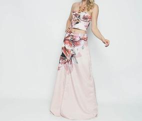 Conjunto Franciele Morezzi Barato/promoção Rosê & Marrom -p