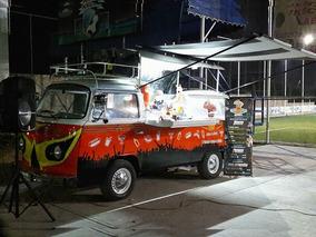 Volkswagen Combi Food Truck Equipada Acero Inox Abatible