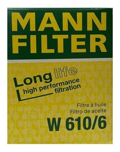 Filtro Aceite W 610/6  (mann Filter)