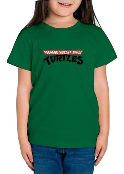 Playera Tortugas Ninja Turtles Tmnt Niña 1 Pieza