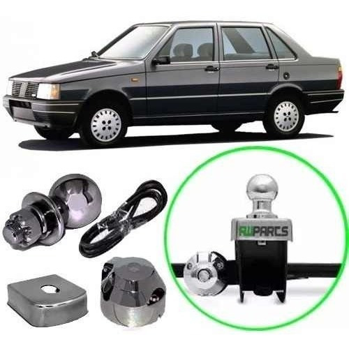 Engate Reboque Rabicho Fiat Prêmio 1988 Á 1994 - 400kg 4 F