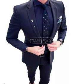 Blazer Italiano Slim Masculino Oxford + Calça