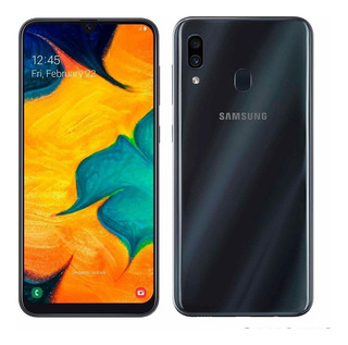 Smartphone Samsung Galaxy A30, Preto, 6,4 , 64gb, 16mp+5mp