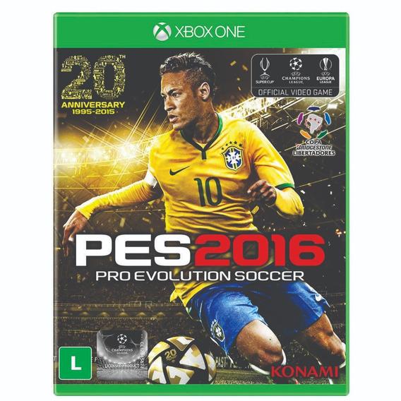 Pro Evolution Soccer 2016- Xbox One - Midia Fisica - Lacrado