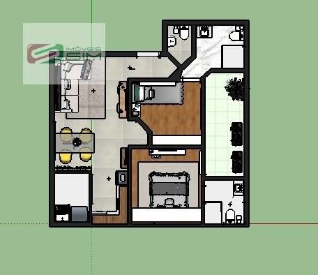 Imagem 1 de 3 de Apartamento Em Vila Bastos - Santo André - 4180