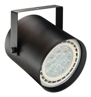 Spot Cilindro Ar111 Negro + Lamp Ar111 Led Glowlux - E. A.