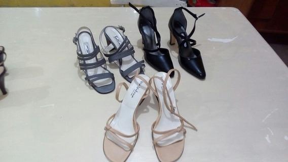 Lote De Sandalias Y Zapatos De Vestir
