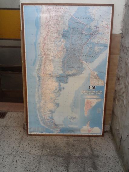 Mapa Republica Argentina Instituto Geografico Militar