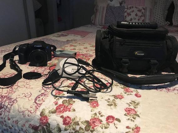 Câmera Digital Canon Powershot Sx530 Hs Wi-fi 16.0mp + Bolsa