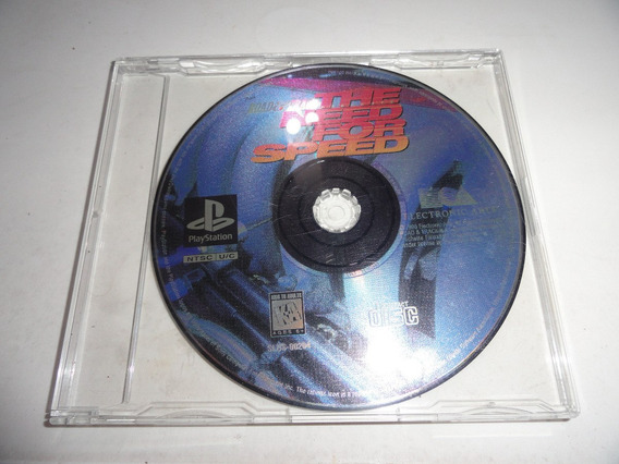 Só O Disco Need For Speed Original Psone Ps1 Leia!!