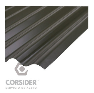 Chapas Techo Sinusoidal Gris Pizarra Lote 20 M2 Anisacate