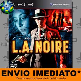 Jogo L.a. Noire Promoção Pronta Entrega Ps3 - Midia Digital