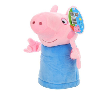 Juguete Titere Mano Plush George Peppa Pig Babymovil 6336