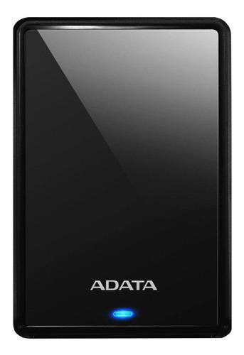 Imagen 1 de 3 de Disco duro externo Adata AHV620S-2TU3 2TB negro