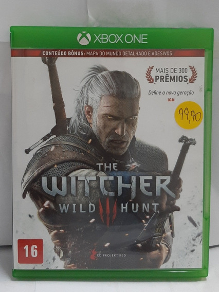 Jogo Xbox One The Witcher Wild Hunt 3 Mídia Física Original