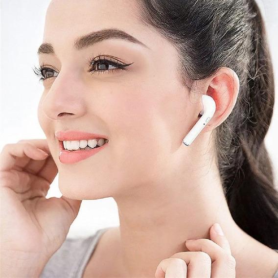 Fone Ouvido Bluetooth I9s I7s Tws Ios Android Jbl Case Micro